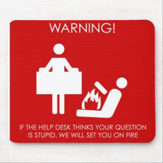 Helpdesk mousemat mouse pad