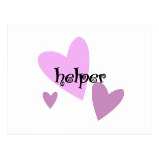 Helper Postcard
