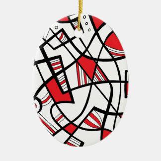Helpful Creative Fair-Minded Imagine Ceramic Ornament
