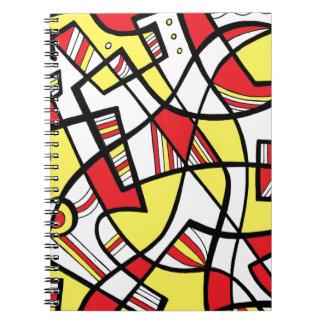 Helpful Creative Fair-Minded Imagine Spiral Notebook