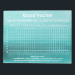 """Helpful Mood Tracker For Bipolar Disorder Symptoms Notepad<br><div class=""""desc"""">Keep track of your moods each day by filling out this helpful notepad in accordance to how you are feeling. This would suit anyone who has bipolar disorder and prefers to see what they might be on for in regard to their moods and other symptoms. The design features a blue...</div>"""