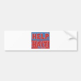 HelpHaiti Car Bumper Sticker