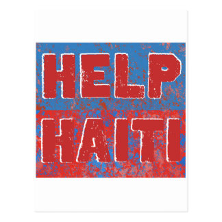 HelpHaiti Postcard