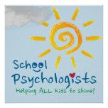Helping All Kids to Shine School Psychology Poster