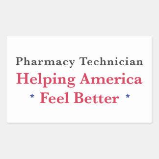 Helping America Feel Better Sticker