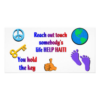 Helping HAITI_ Card