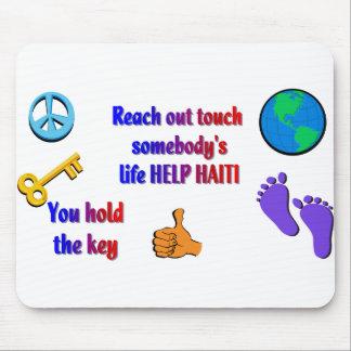 Helping HAITI_ Mouse Pad