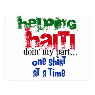 Helping Haiti Postcard