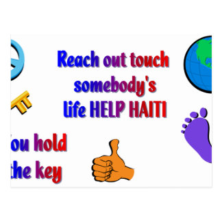 Helping HAITI_ Postcard