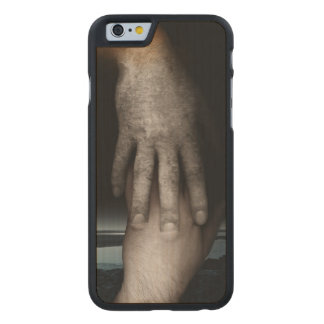 Helping hand 2013 carved maple iPhone 6 slim case