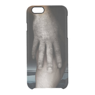 Helping hand 2013 clear iPhone 6/6S case
