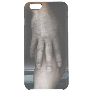 Helping hand 2013 clear iPhone 6 plus case