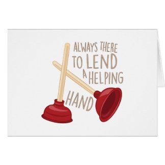 Helping Hand Card