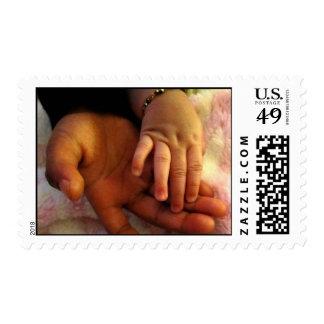 Helping Hand - Children Postage Stamp