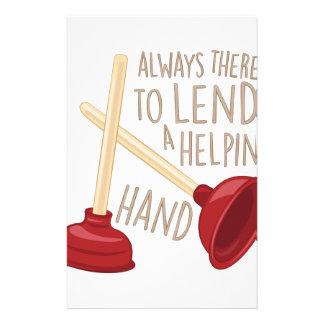 Helping Hand Stationery
