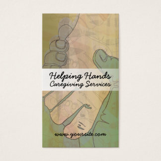 Helping Hands Caregiving Business Cards