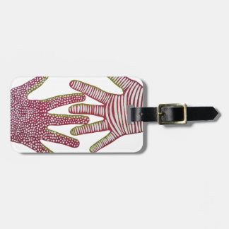 Helping Hands Luggage Tag