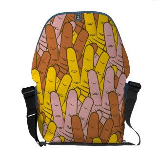 Helping Hands Messenger Bag