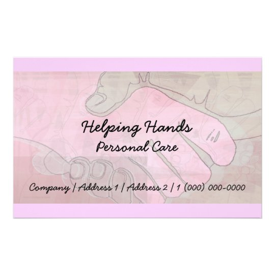Helping Hands Personal Care Flyer