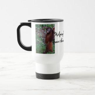 Helping Hands Save Animals Mug
