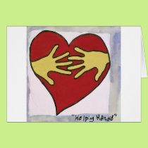 Helping Hands-Veronica Card