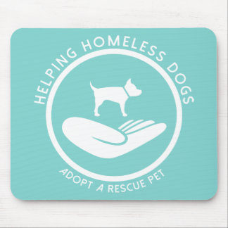 """Helping Homeless Dogs"" Mouse Pad"