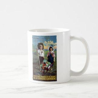 Helping Hoover in our U.S. School Garden Coffee Mug