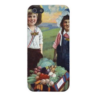 Helping Hoover in our U.S. School Garden iPhone SE/5/5s Case