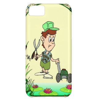 Helping in the garden iPhone 5C cover