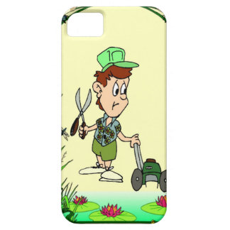 Helping in the garden iPhone SE/5/5s case