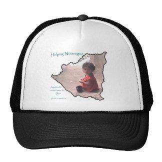 helping nicaragua1 trucker hat