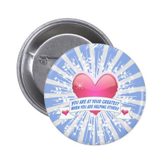 Helping Others 2 Inch Round Button