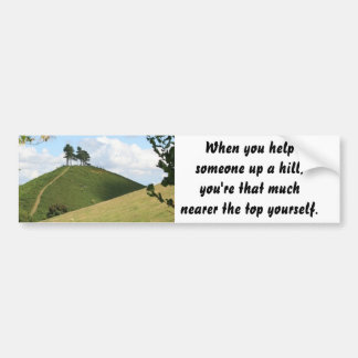 Helping Others Bumper Sticker