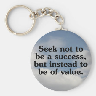 Helping others makes you successful keychain