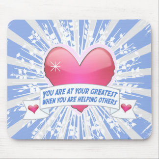 Helping Others Mouse Pads