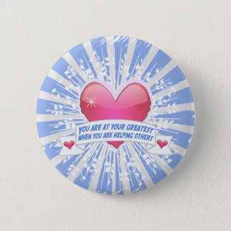Helping Others Pinback Button