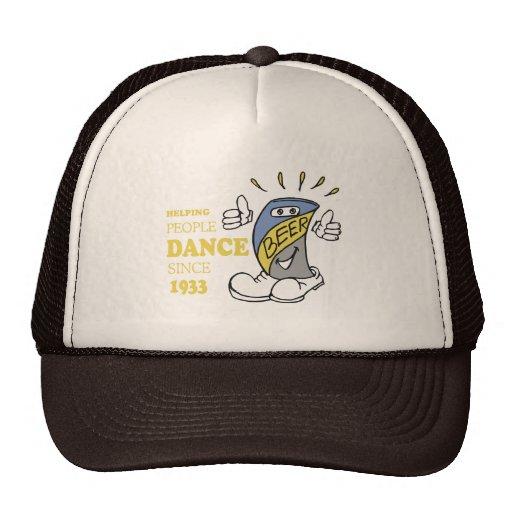 HELPING PEOPLE DANCE T-SHIRT MESH HAT