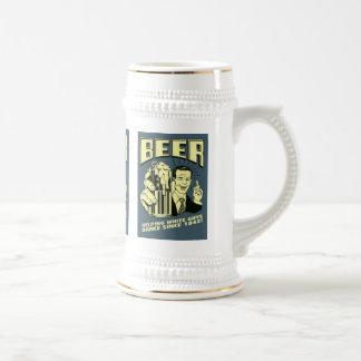 Helping white guys dance since 1842 beer stein