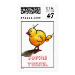 Helpless Chick by Sophie Turrel Stamp