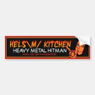 Hels Kitchen Bumper Sticker Car Bumper Sticker