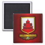 Helsingborg 2 Inch Square Magnet