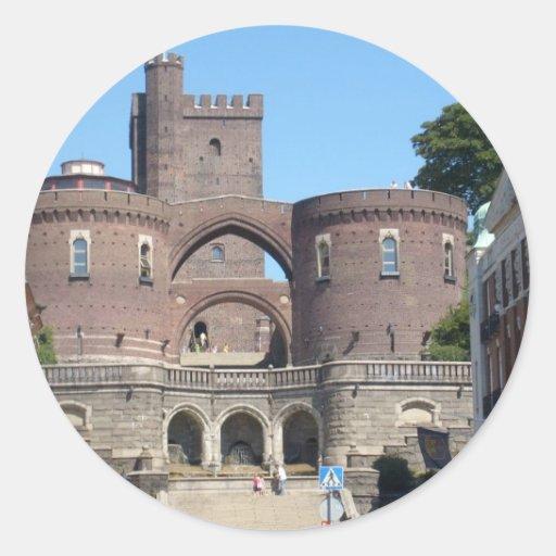 Helsingborg Castle - Sweden Classic Round Sticker