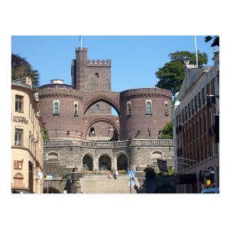 Helsingborg Castle - Sweden Postcard