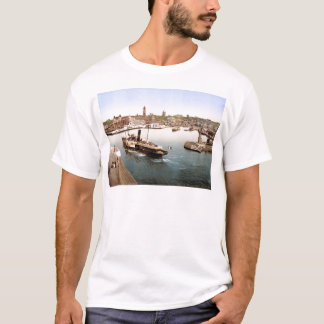 Helsingborg harbor and city hall Sweden T-Shirt
