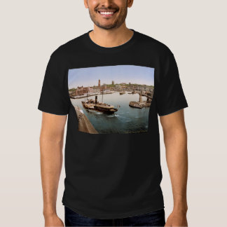 Helsingborg harbor and city hall Sweden Tee Shirt