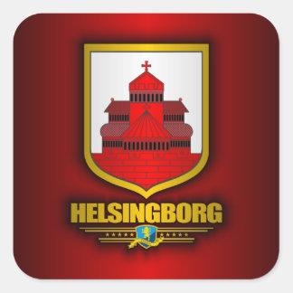 Helsingborg Square Stickers