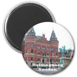 Helsingborg Sweden 2 Inch Round Magnet