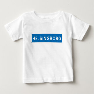 Helsingborg, Swedish road sign Baby T-Shirt