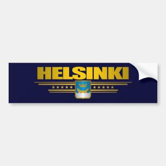 Helsinki Pegatina De Parachoque