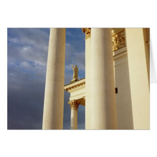 Helsinki Cathedral Card (Horizontal)